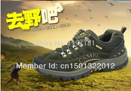 Wholesale Guciheaven Men Shoes - 2015 Men Outdoor Genuine Cowhide Leather Shoes strong Guciheaven 541 Casual Work travel Rubber sole Boots Camel brown 39-44