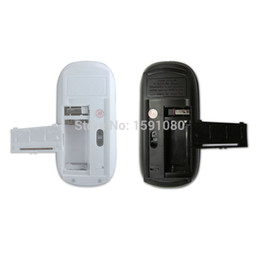 Wholesale Arc Mouse Bluetooth - Wholesale-Candy Color Ultra Thin Mini USB 2.4Ghz Snap-in Transceiver Optical Foldable Folding Arc Wireless Mouse for PC Laptop Computer