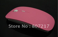 Wholesale Dropshipping Wireless Mouse - Wholesale-Hot sale 2.4G Wireless Mouse for PC Laptop Multicolor slim mouse Optical mouse Dropshipping