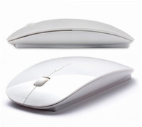Wholesale Wireless Book Laptop - Wholesale-New 2.4 GHz Wireless Optical Mouse Cordless Mice Nano Receiver Build Inside For Apple Mac Book PC Computer Laptop, Free Shipping