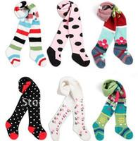 Wholesale Yuelinfs Pants - $15 off per $150 order 18pcs lot Free shipping Yuelinfs chidren Tights PP pants, baby legging,children Pantyhose