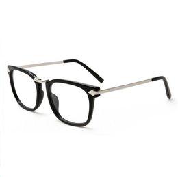glatte brillen Rabatt Plain Spiegelgläser Myopie Brillengestell optische Brillengestelle Mode-Stil Brillengestell für Frauen