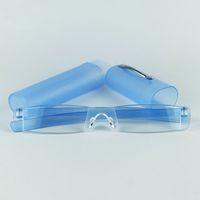 Wholesale Cheap Slender - Cheap Slim Reading Glasses Slender Tube Reading Glasses For Older's With Plastic Case Mixed Power Lens