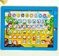 Wholesale Y Pad Russian Language - New Arrival Russian Y-pad Children Learning Machine Russian Ypad Computer best Christmas gift for Kids
