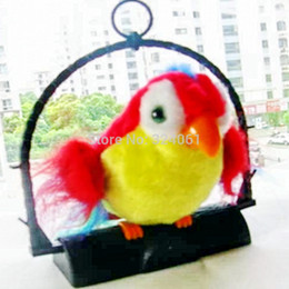 Wholesale Recording Parrot - 2pcsThe parrot toy Recording Plush Electronic Kids Pet Repeat Toys Good Quality Not the Cheaper one, Learning & Education Toys,