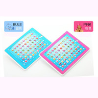 Wholesale 3d Pad Educational - Free Shipping 3D-PAD Touch Voice Learning Machine - English Teaching Knowledge ABC multifunction,kids best like educational gift