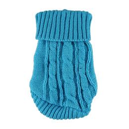 2019 abrigos fbi Hot Spring Winter Dog Cat Clothes Warm Knitwear suéter para el perrito del animal doméstico ropa de invierno cálido envío gratis