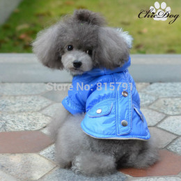 Wholesale Cheap Good Winter Coats - Free shipping pet clothing winter clothes for dogs wholesale pet goods cheap waterproof dogs coats for teddy pug bulldog pitbull