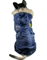 Vêtements d'hiver 5XL Pet Products Big Dog pour les USA AIR FORCE concevoir des vêtements de chien Golden Retriever PUG Bulldog Collie dalmate