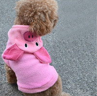 Wholesale Dog Clothes Pig - Turned Pink Pig Equipment Pet Clothes Dog Clothes for dogs New 2015 Pet Products Teddy VIP 1pcs lot