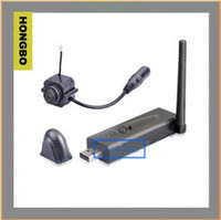 Wholesale Wireless Video Camera Usb Receiver - Guaranteed 100% new Hot Sale 2.4G mini Wireless USB DVR receiver + mini Video Camera