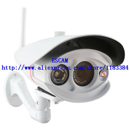 Wholesale Ip Camera Outdoor Eu - EU Wanscam HW0033 Security P2P PNP Outdoor surveillance camera Wireless Wired IP Camera 15-20 Meter Night Vision 3.6mm Lens