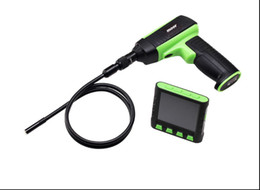 """Wholesale Endoscope Lcd 9mm - 3.5"""" Color LCD Video Inspection Waterproof Camera Endoscope Snake Borescope 9mm Diameter + 2M Cable"""