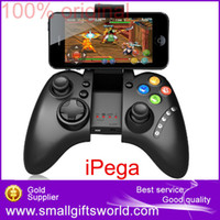 Wholesale Ipega Joystick Game Controller Android - Wholesale-PG-9021 iPega Wireless Bluetooth Game Gaming Controller Joystick Gamepad for Android   iOS MTK cell phone Tablet PC TV BOX