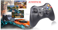 Wholesale Wireless Controller Ps2 Free Shipping - Wholesale-100% Brand New Wireless Gamepad Game Pad Joypad Controller For MICROSOFT Xbox 360 Game & Slim PC Windows Free Shipping