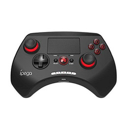"android for tv NZ - Wholesale-AB14738 iPEGA PG-9028 Wireless Bluetooth Game Controller Gamepad Joystick 2.0"" Touch Pad for Android iOS Tablet PC TV Box +FS"