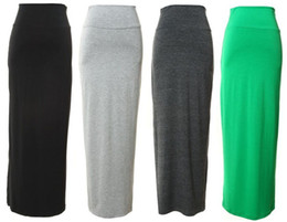 Jersey Maxi Skirts Online | Long Maxi Jersey Skirts for Sale