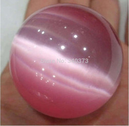 Wholesale Opal Sphere Crystal Ball - Wholesale-New Arrived 40mm Pink Mexican Opal Sphere, Crystal Ball Gemstone