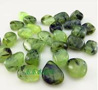 Wholesale Crystal Grapes Wholesalers - Wholesale-Natural green garden yanagihara stone Grape stone symbiosis with black tourmaline charm 20pcs lot