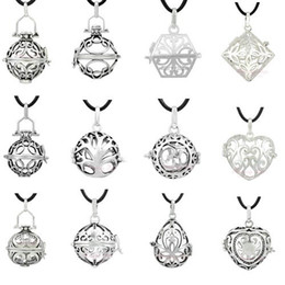 Wholesale Baby 925 Silver Jewelry - 1pc 925 Sterling Silver charm wholesale mix styles for 20MM Angel caller balls baby jewelry Jingle bell bijoux floating Locket