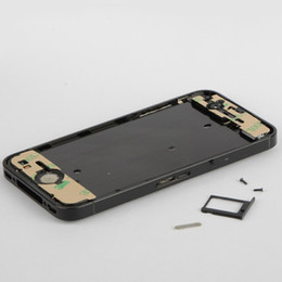 Wholesale Iphone 4s Middle Frame Assembly - 1PCS New Replacement Middle Frame Bezel CHASSIS Full Assembly Fit for iPhone 4S D0003 Free Shipping