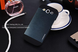 Wholesale Thin Metal Galaxy S3 - 2015 New Luxury Slim Ultra thin Aluminum Metal Phone Cover Case For Samsung Galaxy S3 SIII i9300 i9308 i 9300 Free Shipping