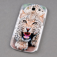 Sexy Cool Fashion Leopard blanc Cover Skin Case pour Samsung Galaxy S3 i9300 iii