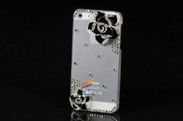 Wholesale S4 Cases Pieces - 3D Diamond for iphone 5 4 4g 4s 3gs Samsung galaxy s4 s3 note 2 i9500 i9300 luxury fashion Case Bling Free Shipping 1 piece