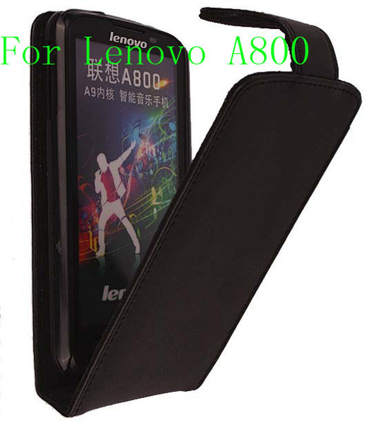Leather Case For Lenovo A800 Pouch Phone DOORMOON Cover Bag Best Gift Flip Full Skin For Lenovo Free Shipping