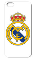 Wholesale Real Madrid Case - 1PCS Real Madrid hard back case cover for Iphone 4 4S 5 5S 5C 6 plus free shipping 004