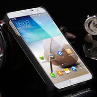 alüminyum nota telefon çantası toptan satış-Lüks Ince Alüminyum Metal Fırça Kılıf Için Galaxy Not 3 III N9000 Sert Telefon Arka Kapak Için Galaxy Note 3 Brandnew