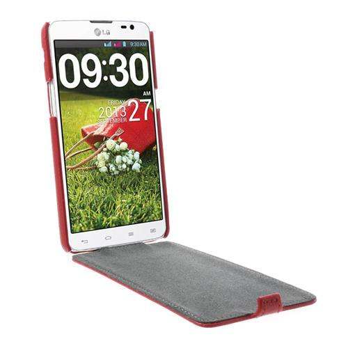 newest f7466 e2d27 for LG G Pro Lite D686 Litchi Leather Flip Cover for LG G Pro Lite D684  Dual D686 Free Shipping