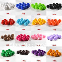 Wholesale Solid 12mm Beads - 12MM,500pcs Gumball Beads Acrylic solid Beads Mixed colors or one color .free shipment!!