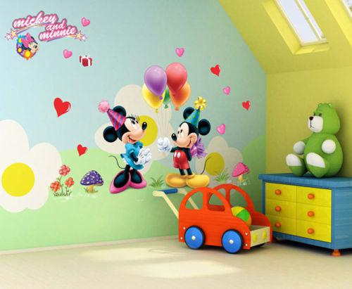 Hot Selling Cartoon Mickey And Minnie Mouse Decor Kids Baby Nursery Decals  Wall Sticker The Little Prince Decor Wall Art Sticker Quotes Wall Art  Stickers ... Part 92