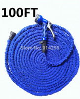 Wholesale- 2015 NEW 100FT Flexible Gargen Water hose pipe for...