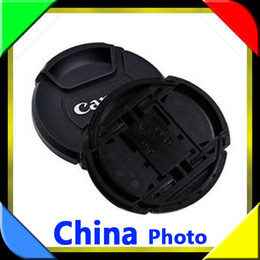 Wholesale Camera N - Camera Lens Cap Can&n 49mm 52mm 55mm 58mm 62mm 67mm 72mm 77mm82mm Protection Cover Lens Accessories Free Shipping