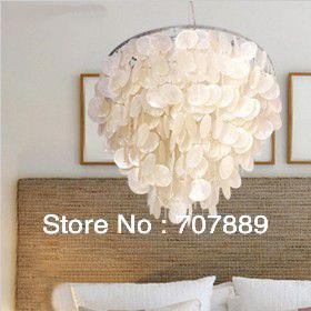 Discount Modern Rural Style Shell Pendant Light+Creative Shell Lamp For  Livingroom Pl119,Also For Wholesale Large Pendant Light Vintage Pendant  Lights From ...