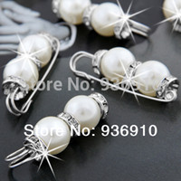 "Wholesale Hijab Fashion Wholesale - 2015 Brooches For Women Top Fashion Freeshipping Trendy Women Broches Hijab Vintage Brooch 20pcs Faux Pearl Pin 0.4-0.5"" Chic"