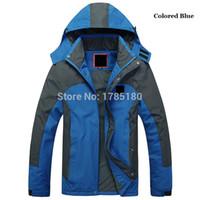 4xl jagdkleidung großhandel-Marke Softshell Jacke Männer Outdoor Wandern Wasserdichte Kleidung Atmungsaktive Warme Windjacke Jagd Cimbing Kleidung