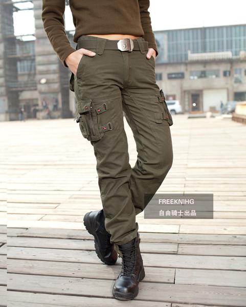 Women's Pants & Capris Wholesaler Ekkk Sells Trousers Women Cargo ...