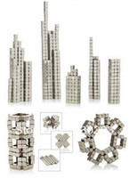 Wholesale Bucky Cubes - 5MM 6x6x6 216 LOT Silver Buckycubes Bucky cubes Neocube Buckyballs Neodymium Magnet Square cube
