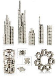 Wholesale 216 Magnets - 5MM 6x6x6 216 LOT Silver Buckycubes Bucky cubes Neocube Buckyballs Neodymium Magnet Square cube