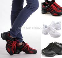 Wholesale Hip Hop Jazz Sneakers - Details about 4 Colors Hot Fashion Women Hip Hop Jazz Dance Sneaker Dancewear Shoes