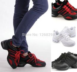 Wholesale Dancing Shoes Gold - Details about 4 Colors Hot Fashion Women Hip Hop Jazz Dance Sneaker Dancewear Shoes