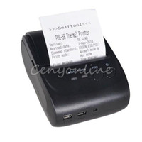 Wholesale Modern Design Bluetooth Wireless Pocket Photo Mobile Phone Thermal Receipt Printer for Android mm ancillary equipment