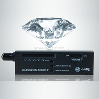 Wholesale Selector Ii Gems Tester - Free Shipping ! Portable Jewerly Diamond Tester Selector II Gems Gemstone Tester LED Tool with case