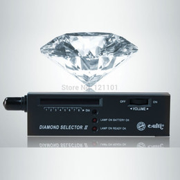 Wholesale Portable Jewerly Diamond Selector II Gems Gemstone LED Tool with case