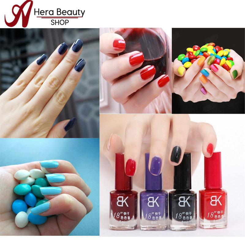 Bk Nail Polish Bottle 18 Seconds Drying Acrylic Paint Easy Control ...