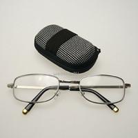 Mini Lente De Vidro Dobrável De Prata Armação De Metal Full-Rim Óculos De  Leitura Unisex Com Caso + 1,00, + 1,50, + 2,00, + 2,50 + 3,00 + 3,50 + 4,00 8dbe62d8a3