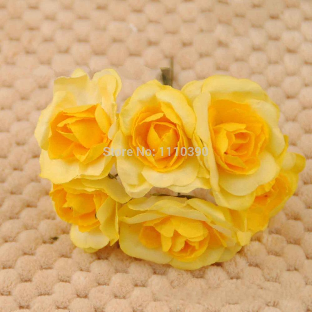 2018 3cm Diy Tissue Paper Flowers Bouquetsartificial Flowersreal